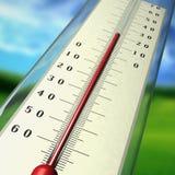 термометр Стоковое Фото