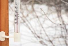 термометр celsius Стоковое Изображение