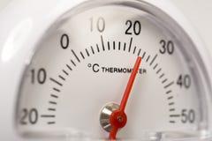 термометр celsius Стоковая Фотография