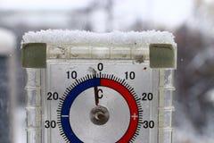 Термометр outdoors Стоковое Фото
