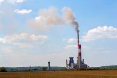 Термо- электростанция стоковая фотография