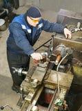 Тернер работает для токарного станка Стоковые Изображения