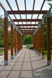 Терраса в парке, Podebrady, чехии Стоковые Фото