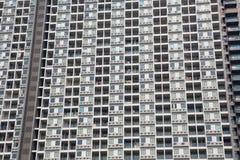 Терраса и окна зданий стоковые фото