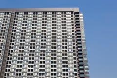 Терраса и окна зданий стоковые изображения rf
