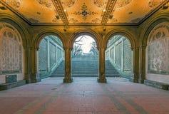 Терраса и тоннель Bethesda Стоковая Фотография