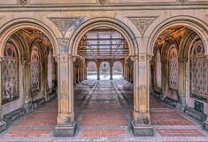 Терраса и тоннель Bethesda Стоковое Изображение