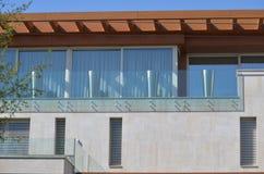 Терраса и фасад стоковые изображения