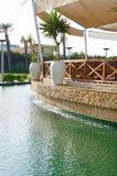 Терраса над водой Стоковое Изображение RF