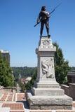 Терраса памятника в Lynchburg Вирджинии стоковая фотография