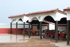 терраса ресторана Стоковая Фотография
