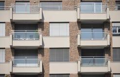 Терраса фасада Стоковое Изображение RF