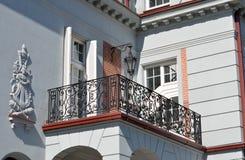 Терраса фасада стоковые фотографии rf