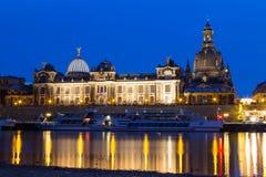 Терраса hl ¼ Brà - hlsche Terrasse Дрезден ¼ Brà Стоковые Изображения RF