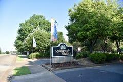 Терраса Ridgeway, Мемфис, TN стоковое фото