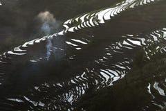 терраса yunnan hani china015 Стоковое Изображение RF