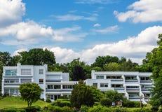 Террасные дома в Берлине на Wannsee Стоковые Фотографии RF