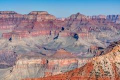 Террасы каньона Стоковые Фото