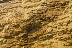 Террасы травертина Стоковое фото RF