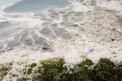 Террасы травертина Pamukkale стоковое фото rf