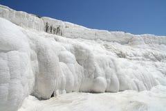 Террасы Pamukkale стоковая фотография rf