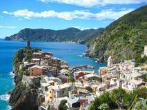 Терра Италия Vernazza Cinque Стоковая Фотография