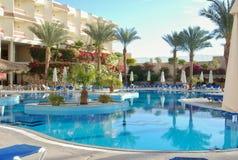 Территория гостиницы залива акул Hilton стоковые фото