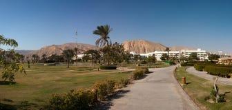 территория гостиницы самомоднейшая Стоковое фото RF