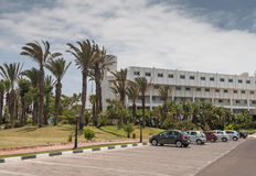 Территория гостиницы Стоковые Изображения RF