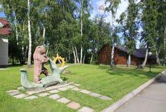 Территория комплекса воссоздания курорта Стоковая Фотография