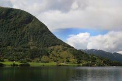 Территория национального парка Jostedalsbreen, Норвегии стоковое фото