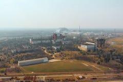 Территория около NPP Чернобыль, Украины r стоковое фото