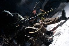 территория патруля Стоковая Фотография RF