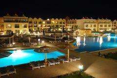 территория роскоши гостиницы Египета стоковые изображения rf