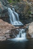 Территория Waterfols AustraliaHoliday в Австралии - национальный парк Campbell порта национальный парк Стоковые Изображения