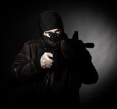 террорист портрета стоковые изображения rf