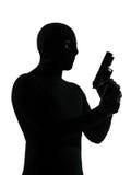 Террорист преступника похитителя Стоковое Изображение