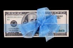 тесемка доллара счета Стоковые Фото