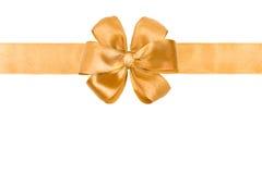 тесемка золота смычка Стоковая Фотография RF