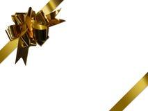тесемка золота Стоковые Изображения RF