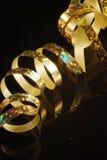 тесемка золота Стоковое фото RF