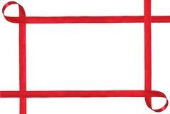 Тесемка изолированная на белой предпосылке стоковая фотография rf