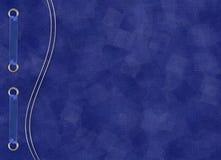 тесемка карточки предпосылки голубая Стоковые Фотографии RF
