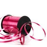 тесемка катушкы розовая Стоковое Фото