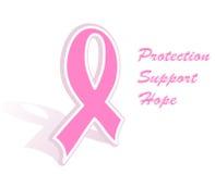 тесемка рака молочной железы розовая Стоковые Фото