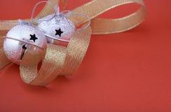 тесемка рождества колоколов Стоковое Изображение