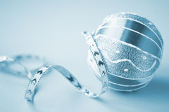 тесемка рождества шарика Стоковая Фотография RF