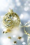 тесемка рождества шарика Стоковая Фотография