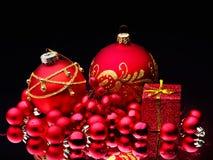 тесемка рождества шарика Стоковое Фото