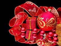 тесемка рождества шарика Стоковые Фотографии RF